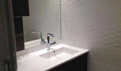 Rénovation complète de salle de bain dans maison individuelle à Lentilly