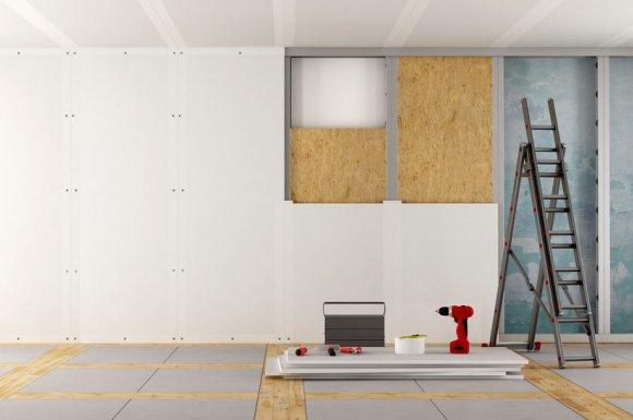 L'importance du placo dans le revêtement mural Lentilly
