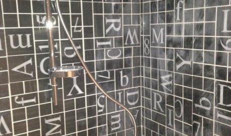 La pose de douche à l'italienne Lentilly